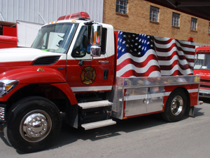Letcher County Fire Truck